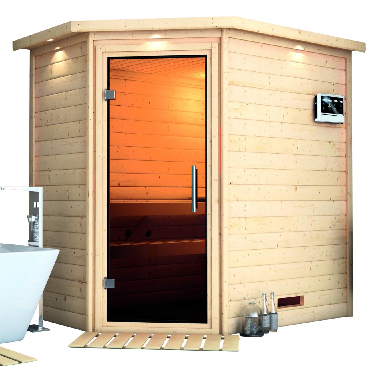 Sauna SVEA 2,24 x 1,60 m