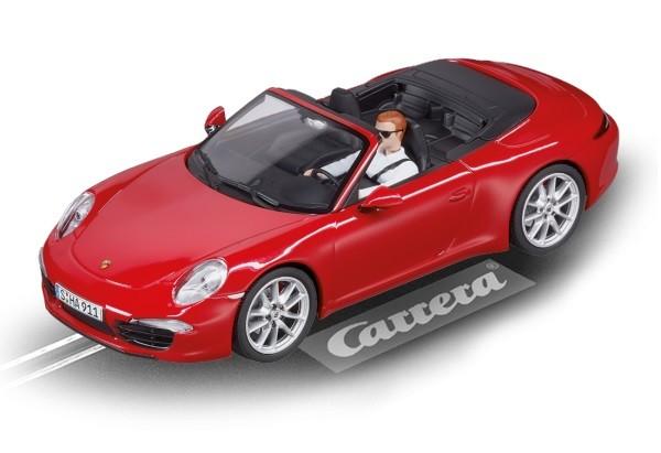 Auto Digital 132 PORSCHE 911 CARRERA S CABRIOLET rot