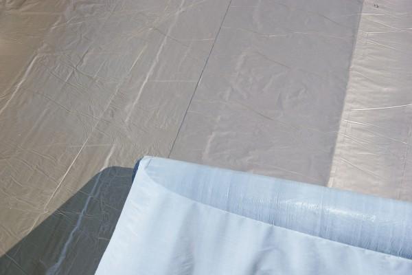 Aluminium Dachfolie KSK selbstklebend grau 5 m² für Flachdachhäuser