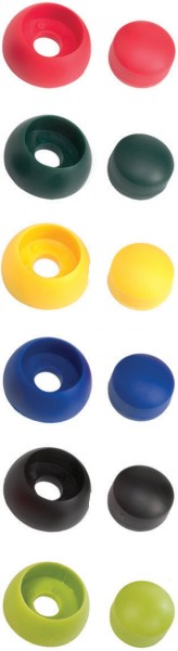 Kunststoff Bolzenabdeckung 2-teilig