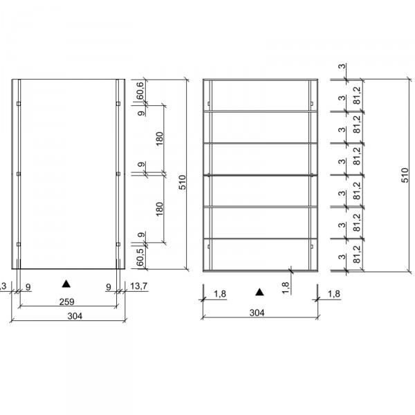 Carport Elbe 1 Einzelcarport 3 04 X 5 10 M Flachdach Garage
