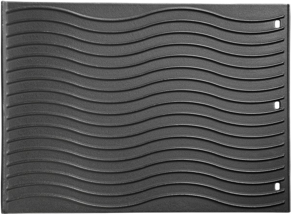 Wendeplatte 45 x 33 cm Gusseisen