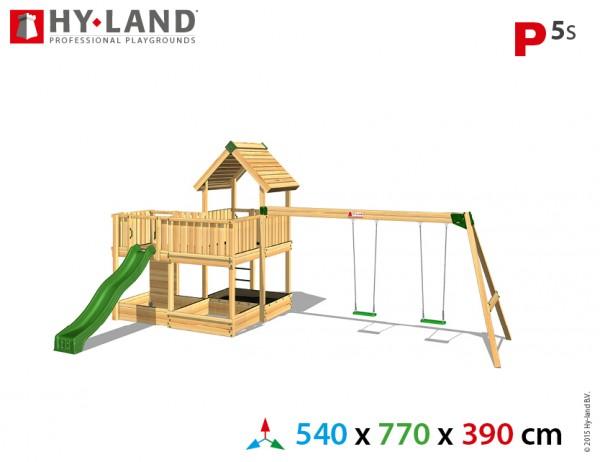 Spielplatzgerate:_Spielturm_mit_Schaukel_und_Rutsche_P5s