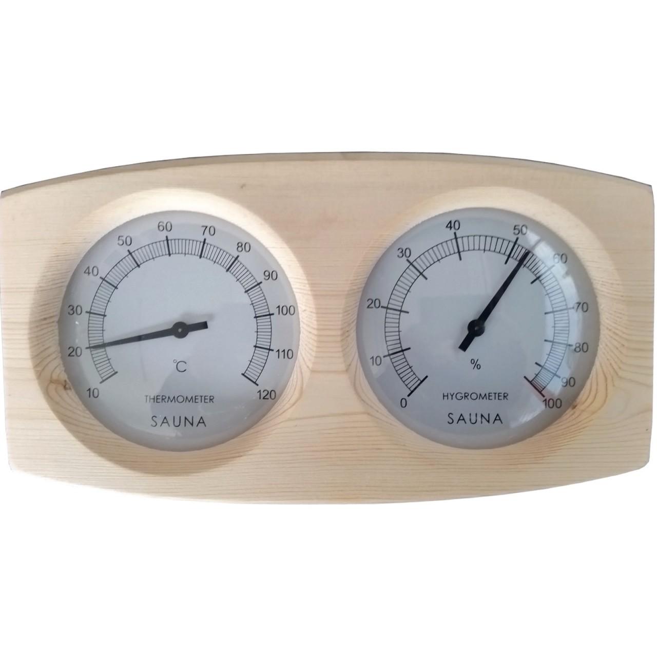 Sauna Thermometer Hygrometer ANNA MODERN