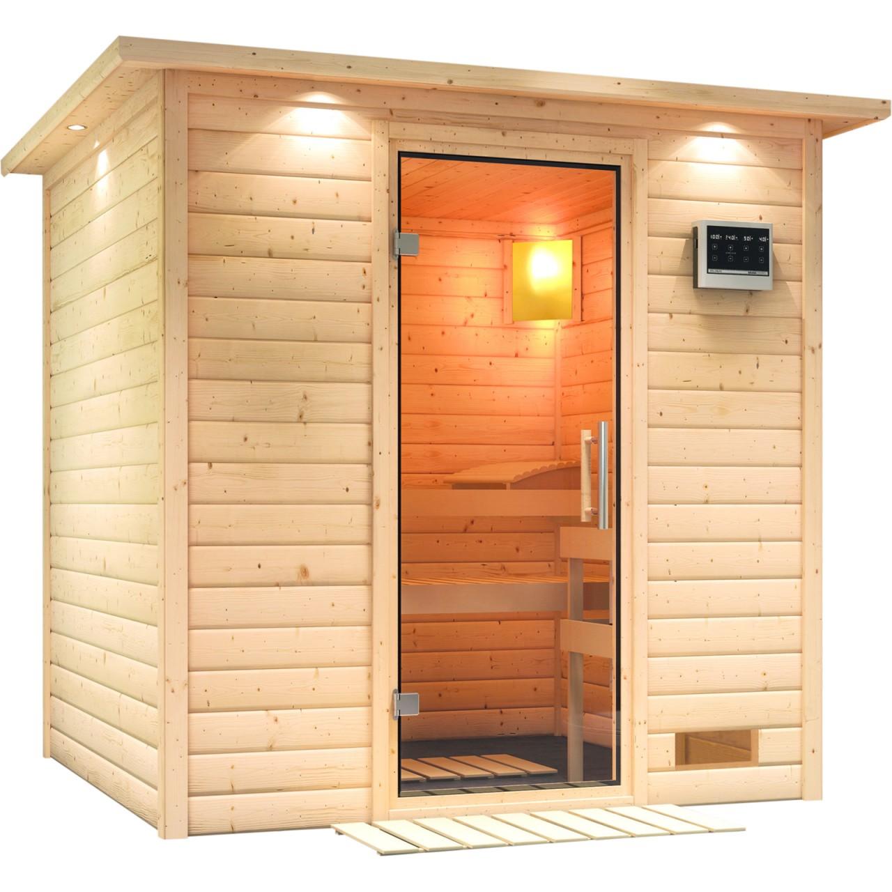 Sauna NORA 2,24 x 2,10 m
