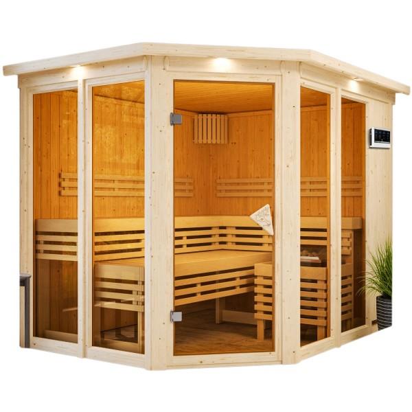 Sauna AINUR SPARSET 2,45 x 2,1 m