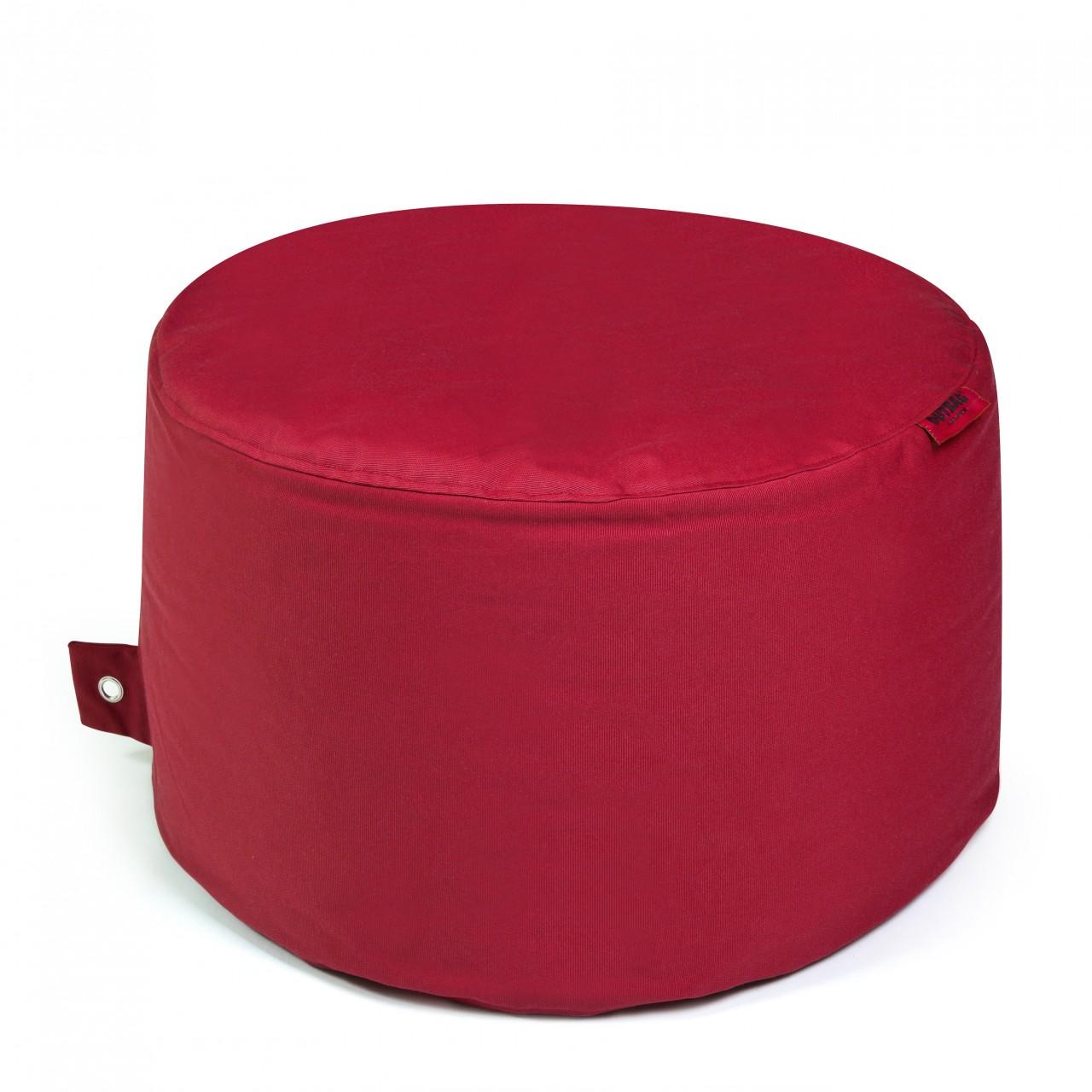 Outdoor Sitzsack ROCK Ø 60 cm wetterfest Plus Red