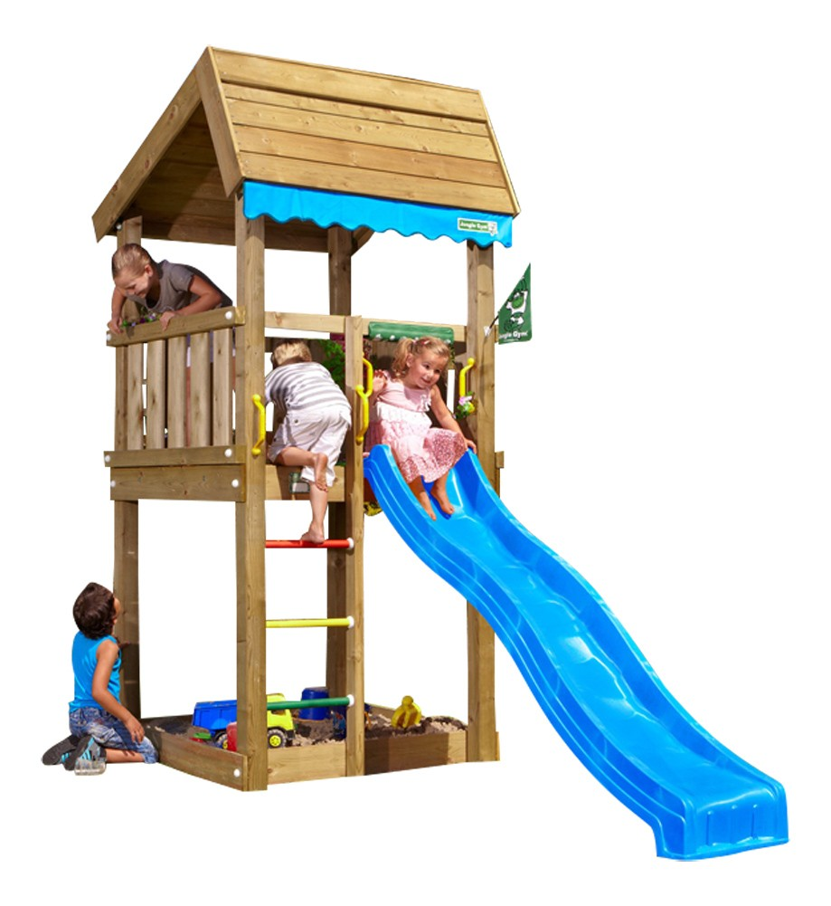Spielturm HOME Blau