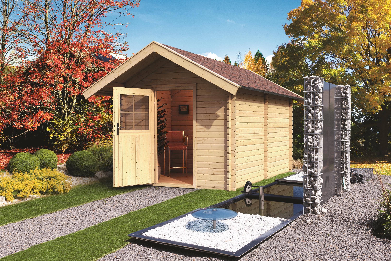 karibu gartensauna saunahaus 3 mit vorraum 38 mm 2 94 x 4 37 m saunahaus au en ebay. Black Bedroom Furniture Sets. Home Design Ideas