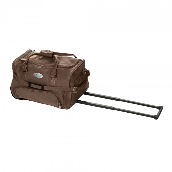 Rollenreisetasche 40 L Lederlook Choco Travel Bag