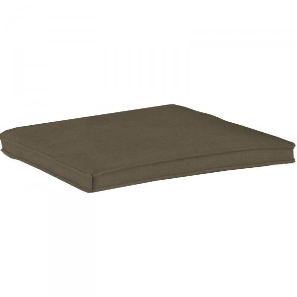 Geflechtauflage DESSIN 839 für Sessel Medoc mocca-braun
