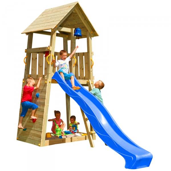 Spielturm BELVEDERE mit Rutsche