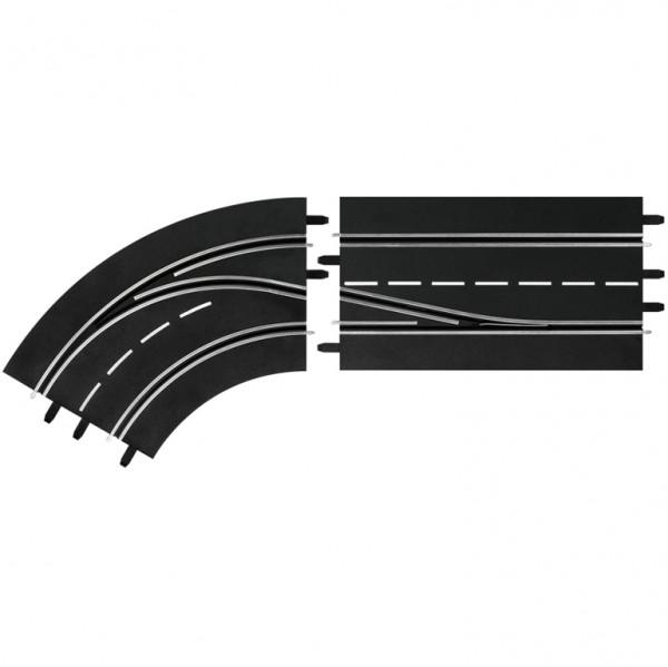 Digital 124/132 Spurwechselkurve links Innen nach Außen