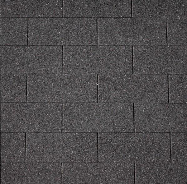 Dachschindeln Rechteck 3 m² mit Glasvlieseinlage