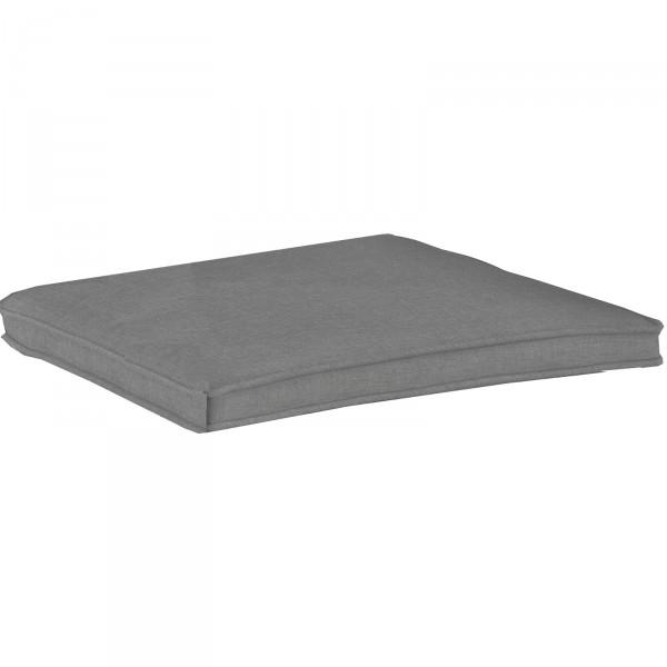 Geflechtauflage DESSIN 837 für Sessel Medoc grau