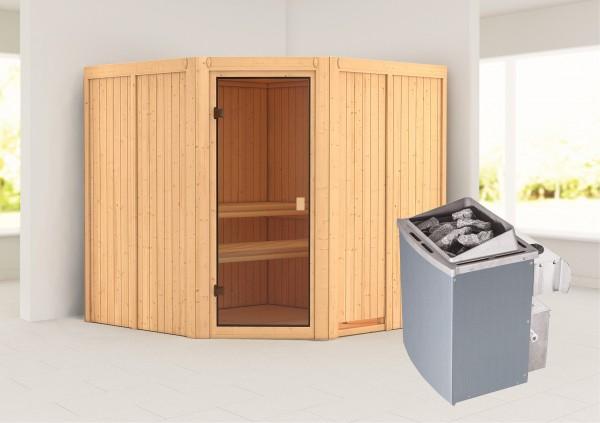 Sauna KOTKA 1,96 x 1,96 m