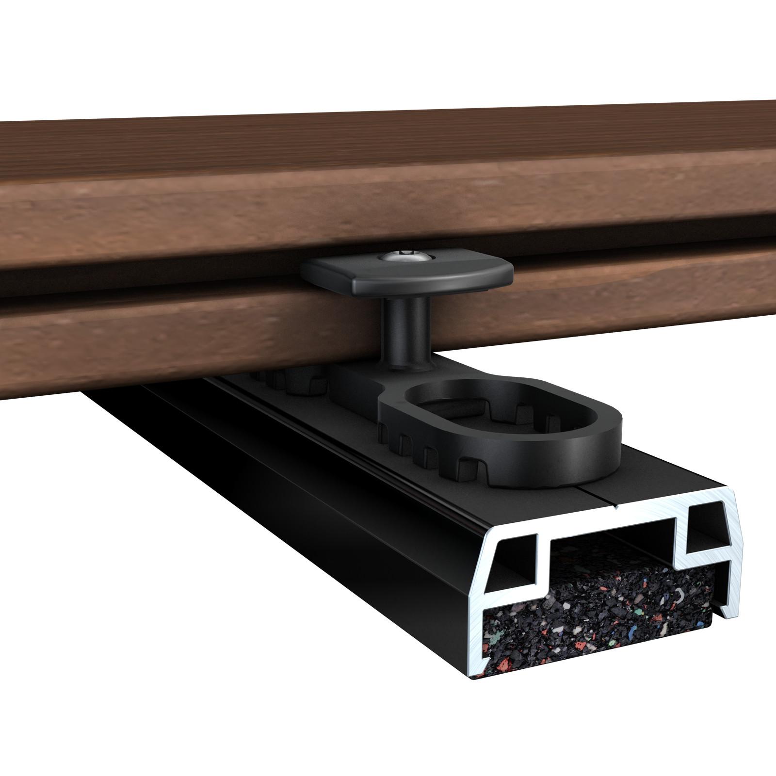 alu unterkonstruktion isostep alu unterkonstruktion terrassenzubeh r terrasse garten. Black Bedroom Furniture Sets. Home Design Ideas