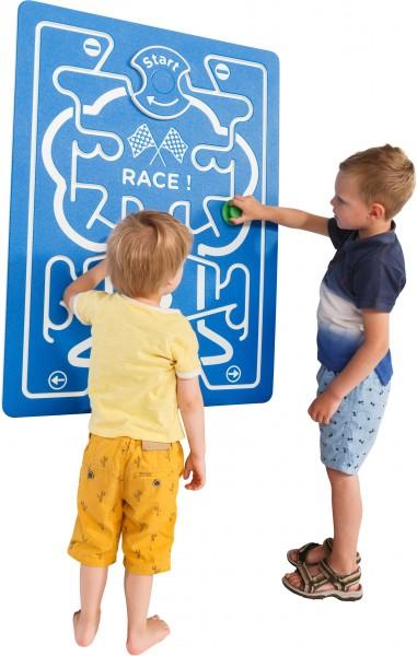 Spielwand RACE Blau 73,5 x 98,0 cm