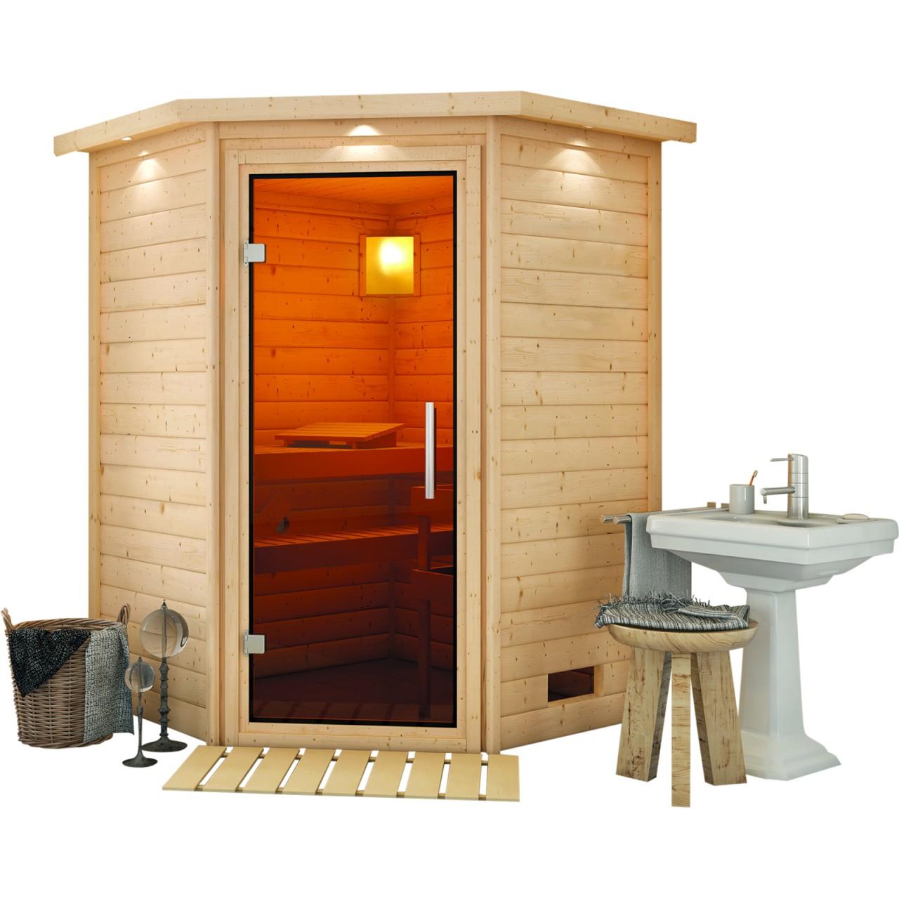 Sauna FRANKA 1,74 x 1,60 m