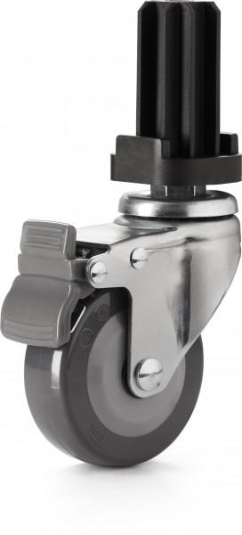 Heavy Duty Lenkrollen-Nachrüstsatz für PRESTIGE 500 / 665, LEX485