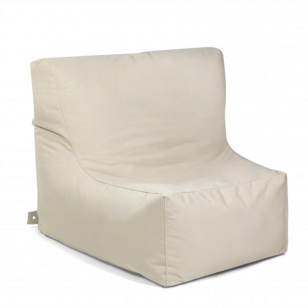 Outdoor Sitzsack Piece mit Zipper 115 x 90 cm wetterfest