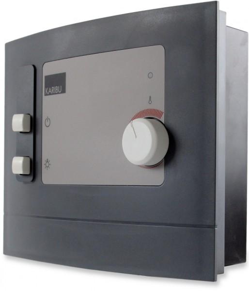 karibu steuerger t modern f r 230 v sauna fen plug play saunaofen saunasteuerung ebay. Black Bedroom Furniture Sets. Home Design Ideas