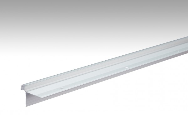 Treppenkantenprofil Typ 11 (10 bis 11 mm) Silber eloxiert 220