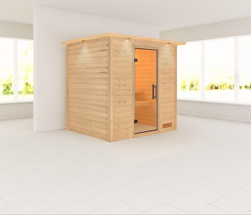 Sauna ANJA 1,96 x 1,70 m