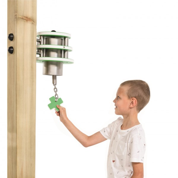 Spielturm Glocke X Apfelgrün