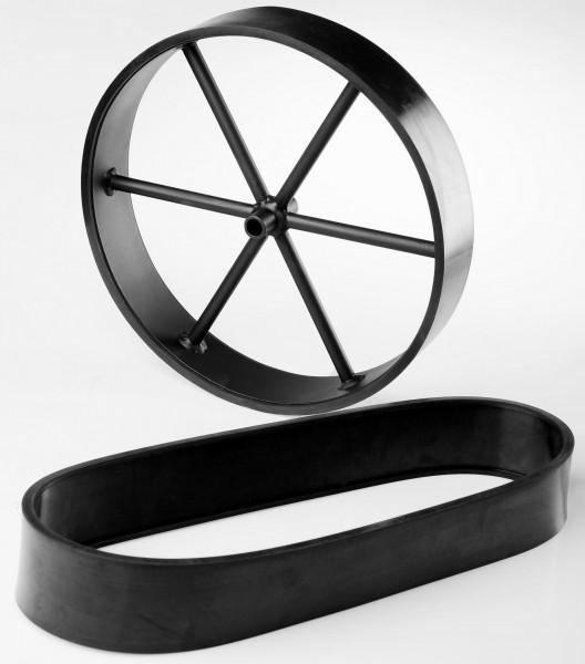 Gummilaufffläche für 16 Zoll Räder