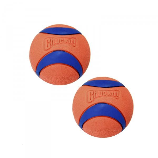 Hundeball ULTRA BALL mittel Ø 6 cm 2 Stück
