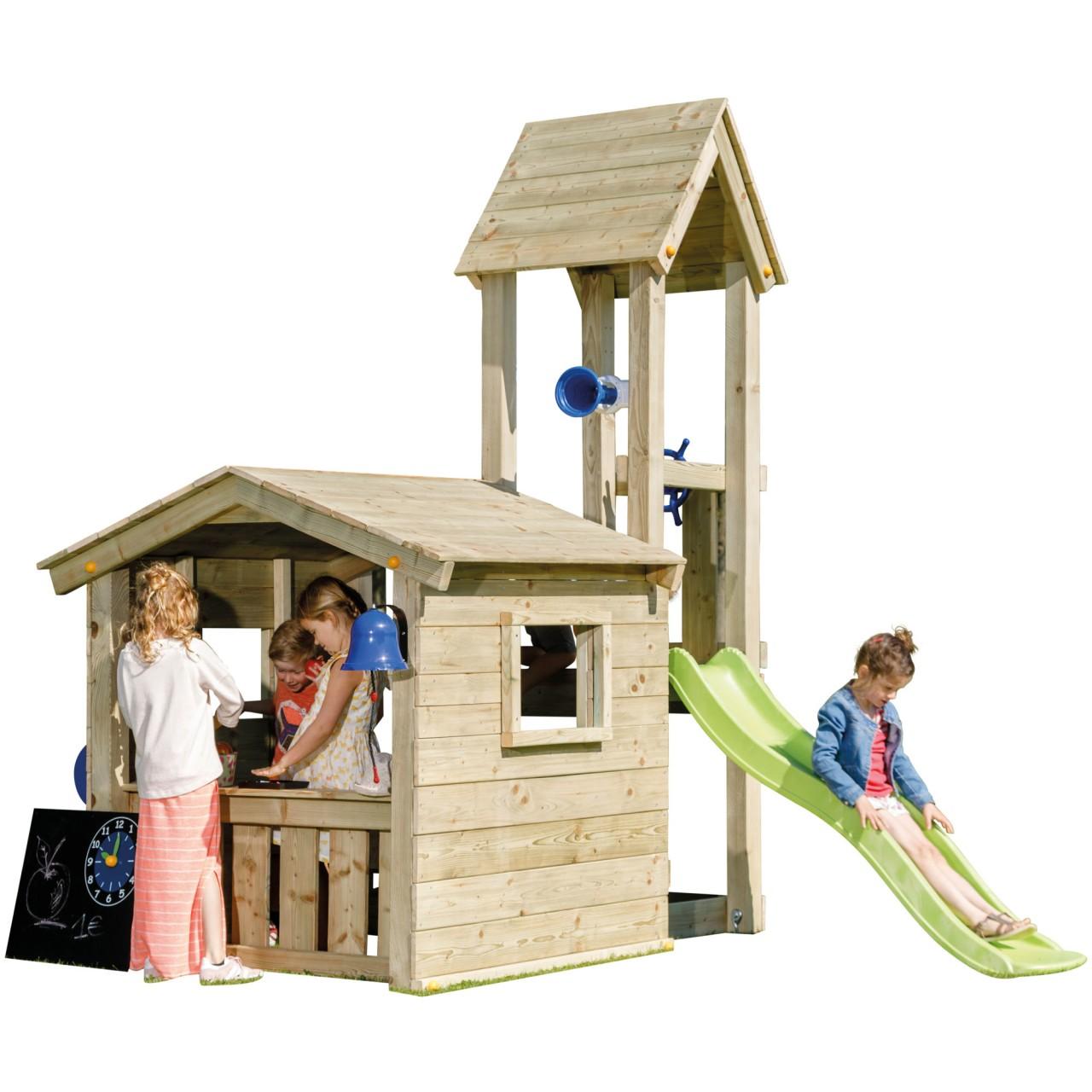 Blue Rabbit  Spielturm LOOKOUT mit Rutsche DH759