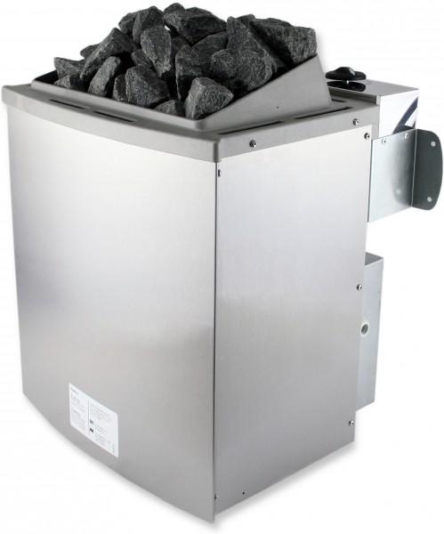 karibu saunaofen 9 kw mit steuerung 20 kg saunasteine 400 v starkstrom sauna ebay. Black Bedroom Furniture Sets. Home Design Ideas