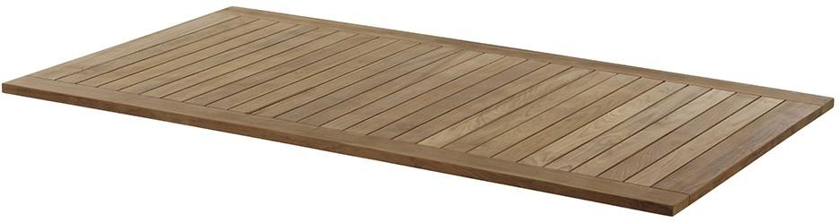 Gartentisch Tischplatte MONZA Teak 160 cm