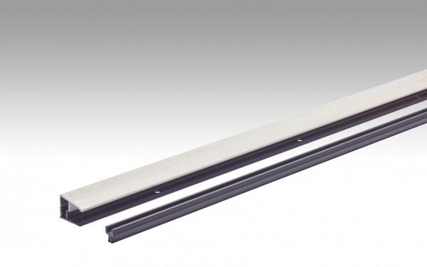 Klipp-Abschlussprofil Typ 401 (7 bis 18 mm) Eiche harmonisch weiß 6139