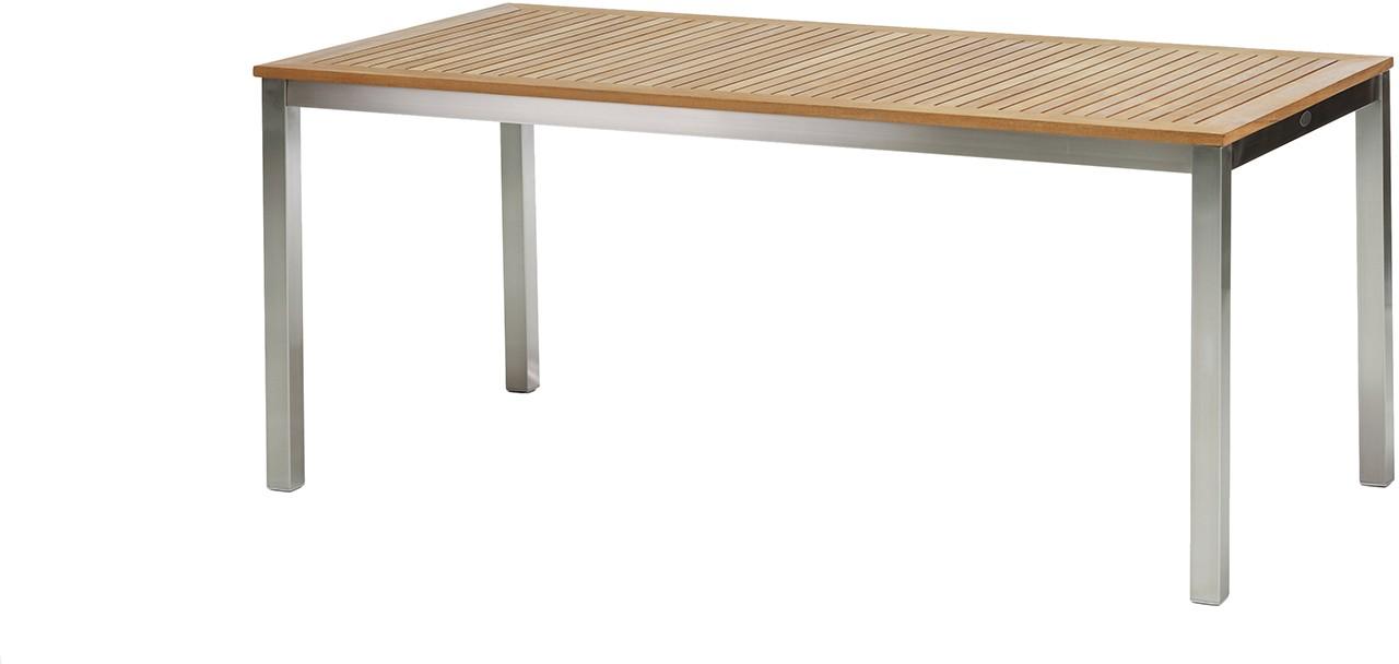 Tisch teak edelstahl home design und m bel interieur for Design tisch edelstahl