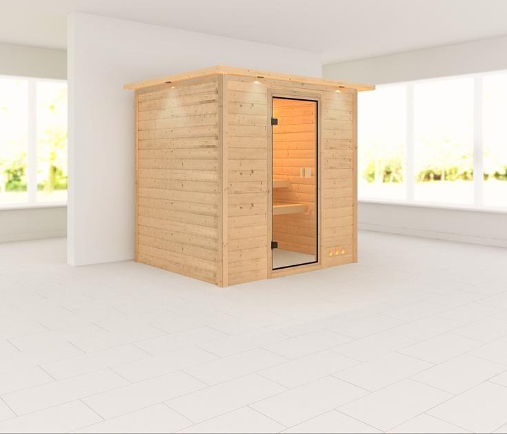 Sauna ADINA 1,96 x 1,70 m