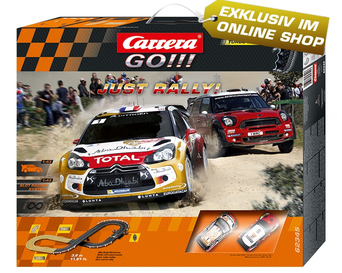 Rennbahn GO!!! Just Rally