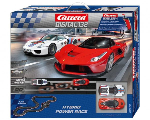 Rennbahn Digital 132 HYBRID POWER RACE