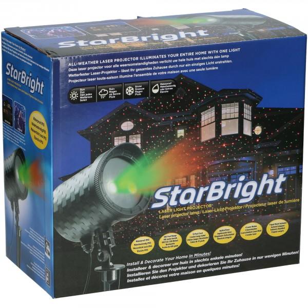 Laser Light Projektor STAR BRIGHT wasserdicht