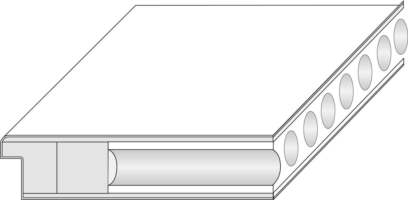Röhrenspanplatte