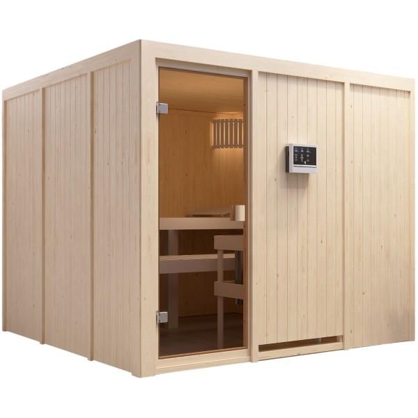 Sauna ARVIKA 2,31 x 2,31 m
