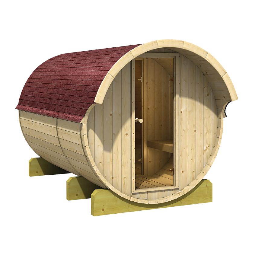 Karibu Fass-Sauna 3