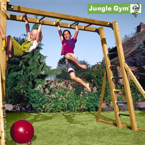 jungle gym anbaumodul monkey zum hangeln und schaukeln spielturm erweiterung ebay. Black Bedroom Furniture Sets. Home Design Ideas