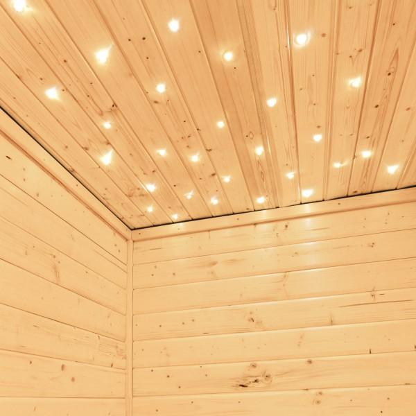 Sauna Sternenhimmel LED