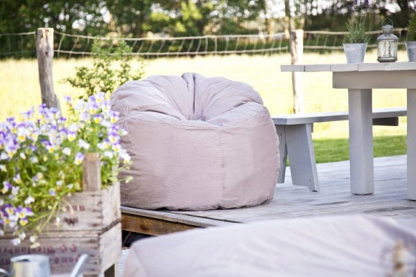 outbag outdoor sitzsack donut 90 x 75 cm wetterfest sessel lounge garten ebay. Black Bedroom Furniture Sets. Home Design Ideas