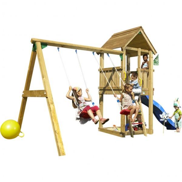 Kims CLUB - Spielturm Set mit Schaukel