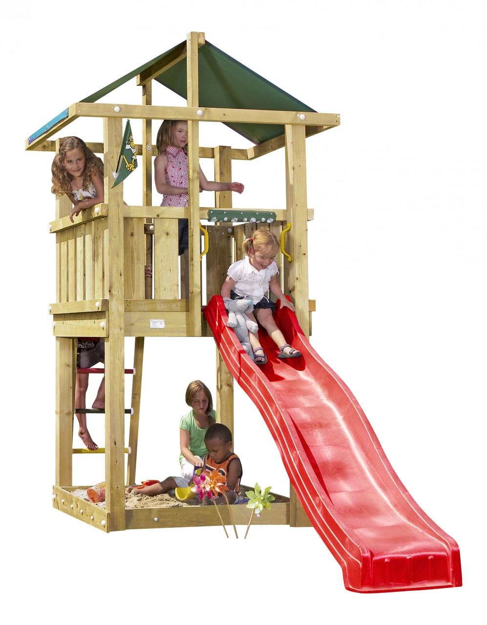 Spielturm HUT Rot