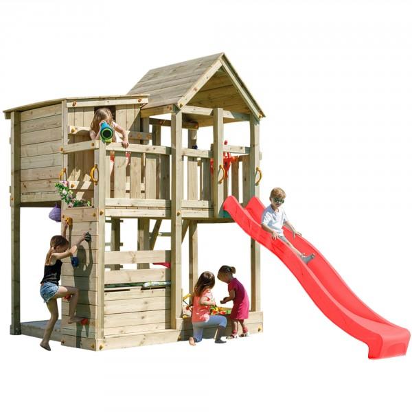 Spielturm PALAZZO mit Rutsche