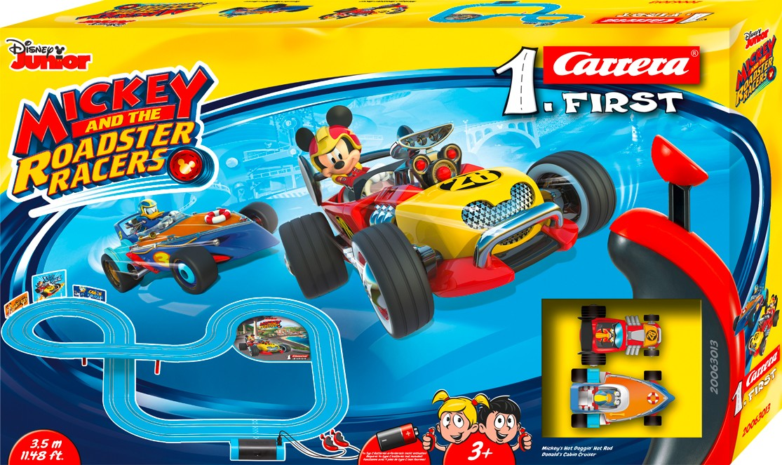 Rennbahn FIRST MICKEY AND THE ROADSTER RACERS 2